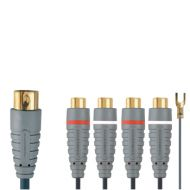 5 pin din to rca female